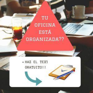 Organizadores profesionales text oficina organizada