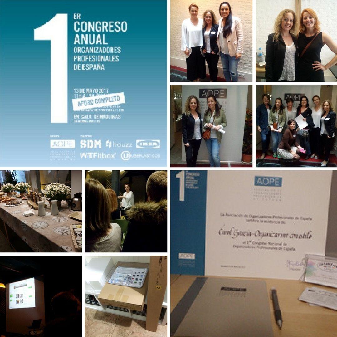 I CONGRESO ORGANIZADORES PROFESIONALES DE ESPAÑA 2017
