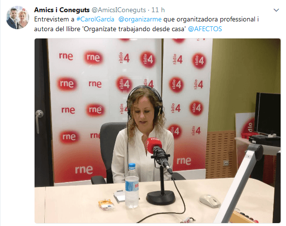 """Entrevista al Programa """"Amics i Coneguts"""" de RTVE 28/10/2017"""