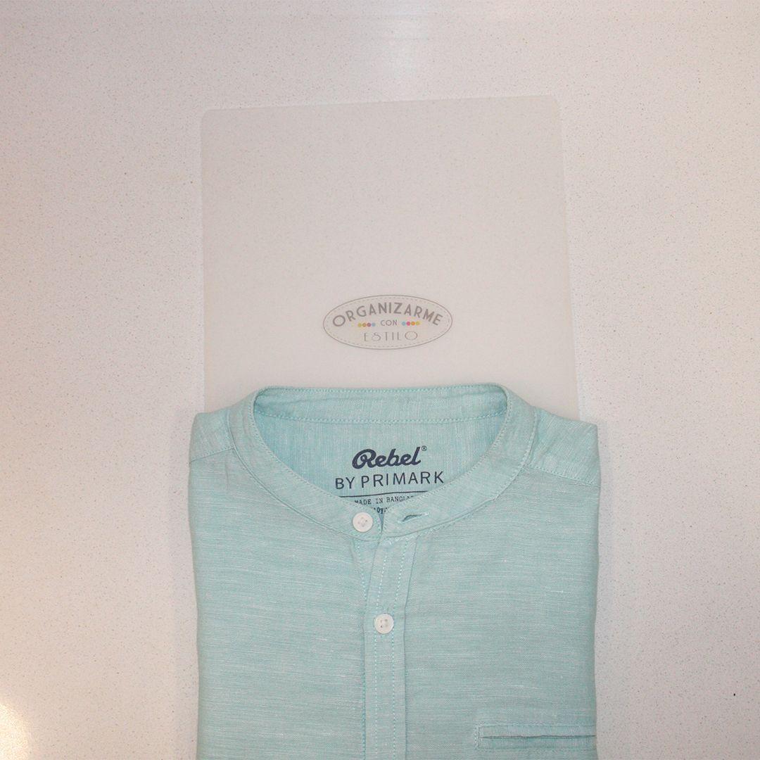 doblado camisa vertical