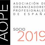 AOPE 2019 ORGANIZADORA PROFESIONAL BARCELONA CAROL GARCIA