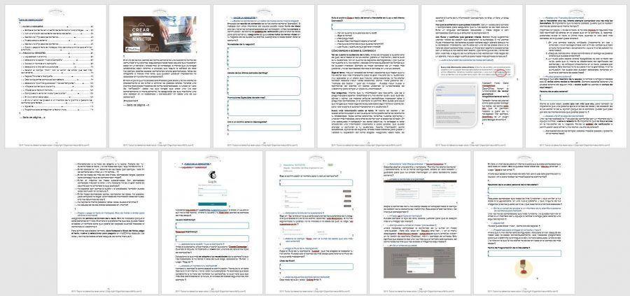 curso creación newsletter con MailChimp